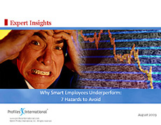 Why Smart Employees Underperform